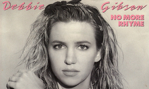 Debbie Gibson – No More Rhyme